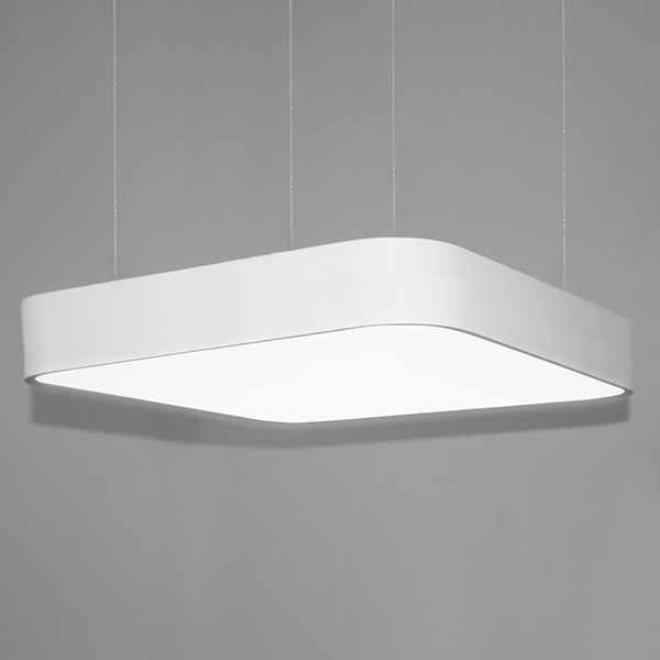 Luminaires of the series BELO_BE_SQ_80