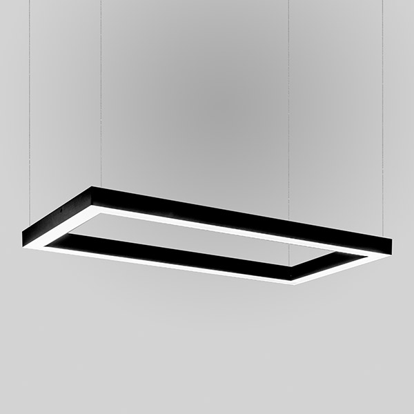 Luminaires of the series CUBUS_SQUARE