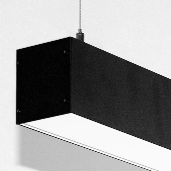 Luminaires of the series CUBUS_XL