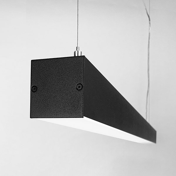 Luminaires of the series CUBUS