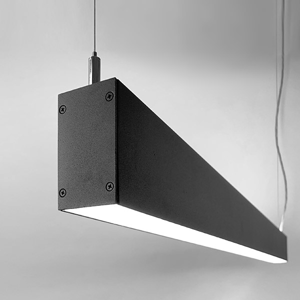 Luminaires of the series DUAL