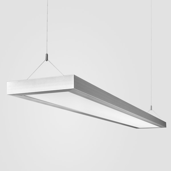 Luminaires of the series FLAT 200