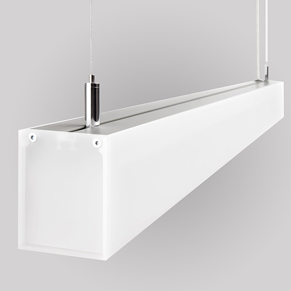 Luminaires of the series LUCID